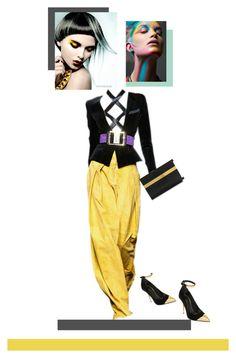 """""""Haute Couture"""" by fl4u ❤ liked on Polyvore featuring moda, Giuseppe Zanotti e Balmain"""