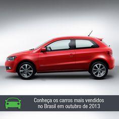 Veja o ranking dos 10 veículos mais vendidos no Brasil em outubro: https://www.consorciodeautomoveis.com.br/noticias/os-carros-mais-vendidos-em-outubro-de-2013?idcampanha=206&utm_source=Pinterest&utm_medium=Perfil&utm_campaign=redessociais