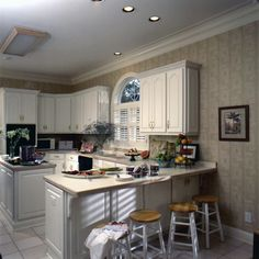 Georgian Home Kitchen Design | Plan 024D-0058 | House Plans and More