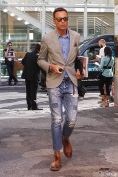 cool casual fridays summer look Casual Jeans, Jeans Style, Casual Outfits, Men Casual, Fashion Outfits, Fashion Sale, Paris Fashion, Fashion Fashion, Runway Fashion