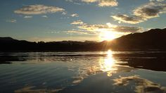 Sunset over Windermere, English Lake District