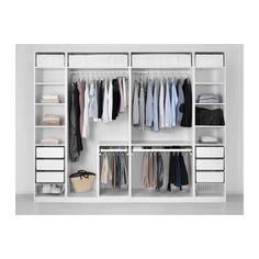 PAX Armario - bisagras estándar, 300x60x236 cm - IKEA