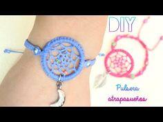 Earring Tutorial, Bracelet Tutorial, Macrame Jewelry, Macrame Bracelets, Crochet Dreamcatcher, Cute Bookmarks, Micro Macramé, Diy Earrings, Jewelry Crafts