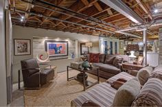 fixing up basement ceiling yourself - Google Search