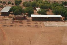 Gando Library. Location: Gando, Burkina Faso; architects: KERE ARCHITECTURE.