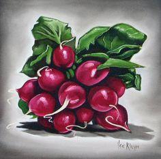 Radish Painting  - Radish Fine Art Print