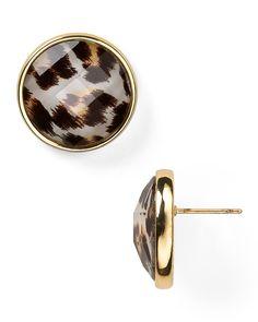 kate spade new york Show Your Spots Stud Earrings | Bloomingdale's