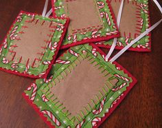 Brown Paper Bag Gift Tags