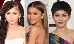 Zendaya Can't Stop Changing Her Hairstyle! See Her Most Daring Look Yet  #InStyle