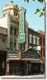 Michigan Theater, down town Jackson