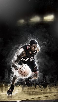 Lebron James: just one of my NBA boo's =].