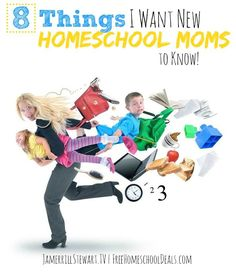 I'm sharing 8 Things I Want New Homeschooling Moms to Know for my new weekly video series on YouTube.