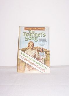 """Rare Vintage Book """"The Baronet's Song"""" Paperback Book 1983 &""""The Shepherd's Castle"""" TWO-IN-ONE Book Special 1983 by SheCollectsICreate on Etsy"""