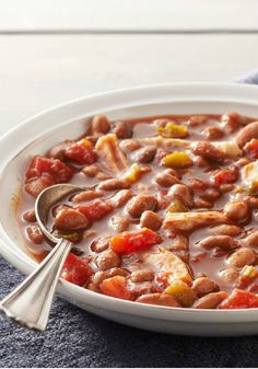 15-Minute Chicken Chili – Think it's impossible to make a flavorful chili in 15 minutes? This spicy-sweet balance of beans, A.1. sauce, and chicken is sure to change your mind.