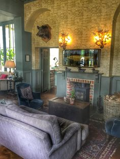 The Pig Hotel, Brockenhurst The Pig Hotel, Living Spaces, Living Room, Modern Country, Interior Decorating, Sitting Rooms, House, Interiors, Google