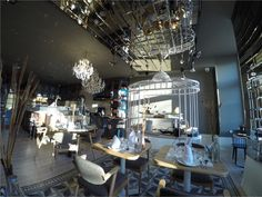 My Story Hotel Rossio by a drone Restaurants, Hotels, Chandelier, Ceiling Lights, Flooring, Home Decor, Candelabra, Decoration Home, Room Decor