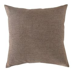 Deconovo Throw Pillow Faux Linen Soft Home Decorative Pillow Case Cushion Cover For Nap 18x18 inch Khaki