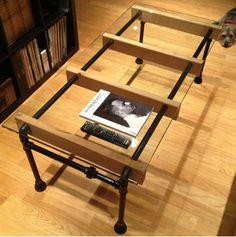 muebles con tuberia metalica - Buscar con Google                                                                                                                                                                                 Más