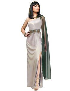 Cleopatra Antike Damenkostüm silber , günstige Faschings  Kostüme bei Karneval Megastore, der größte Karneval und Faschings Kostüm- und Partyartikel Online Shop Europas!