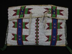 ARAPAHO Indian Beaded Tipi Bag |