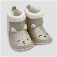 Just One You made by carter Baby Girls' Kitty Boot - Just One You Made by Carter's® Ivory 2. Afflink.