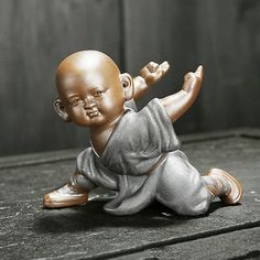 Picture 4 of 10 Zen, Little Buddha, Buddhist Monk, Chocolate Art, Guanyin, Yixing, Buddhism, Chibi, Religion