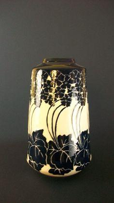 Primrose Vase, Cobalt pottery.