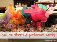 I WANT TO THROW A PINTEREST PARTY! WHOS WITH ME?? @Rosa Hurtado @Lyanne Andino