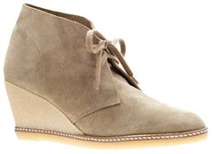 J.Crew MacAlister wedge boots on shopstyle.ca