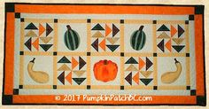 Pumpkin Harvest Table Runner PPP011-EIN