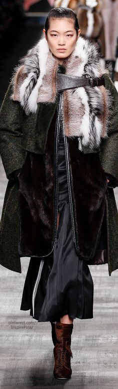 Fall 2014 Ready-to-Wear Fendi | The House of Beccaria~