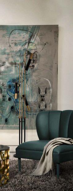 Dalyan 2 Seat Sofa Mid Century Modern Design Chair by BRABBU will refresh any modern dining room.  #dalyan #seat #green #sofa #mid #century #modern #design
