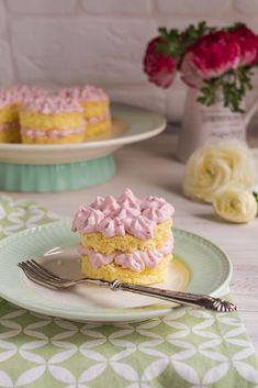 Mini tortine con crema alle fragole - Dolci da sogno