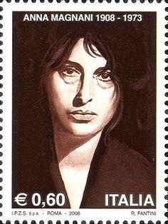 2008 - Centenario della nascita di Anna Magnani - Ritratto di Anna Magnani