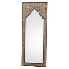 Setzen Sie auf Exotik in Ihrer Einrichtung: Dieser indisch inspirierte Spiegel mit Bronze-Finish setzt einen edlen Akzent im Flur oder in Ihrer Wellness-Oase...