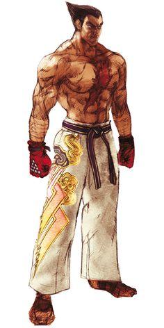 Kazuya Mishima Concept   Tekken Series