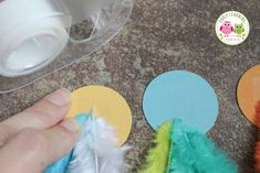 These feather necklaces are a fun fine motor activity for kids and are a perfect addition to a Thanksgiving, turkey, or Spring birds theme unit or lesson plan. The article also includes ideas for working on math concepts like counting, comparing quantities, and creating patterns....for preschool, pre-k, kindergarten, and prep.