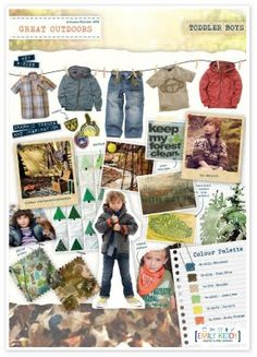 Emily Kiddy: The Great Outdoors - Boys - Autumn/Winter 2012/13 Trend Boys Closet, Outdoor Crafts, Fall Winter, Autumn, Color Theory, Outfits For Teens, The Great Outdoors, Toddler Boys, Boy Fashion