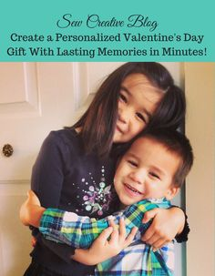 Create a Personalized Valentine's Day Gift With Lasting Memories in Minutes!   Fun Valentine's Gift idea   www.hellocreativefamily.com