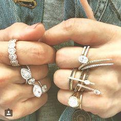 #denim #diamonds #duh @jadetrau ✌️❤️ #forfuturereference #FFR @by_couture @shopetcjewelry #jadetrau x #forevermark