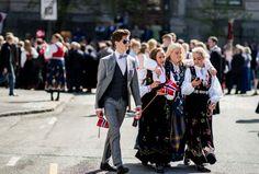 Aziz Nasuti Photography: 17 May Norwegian National Day Floral Tie, Street Photography, Day, Fashion, Moda, Fashion Styles, Fashion Illustrations