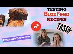 BuzzFeed Tasty Ultimate Brownies Recipe Taste Test! It's been awhile since I did a Buzzfeed Tastytaste test but we're finally back and I have a guest on