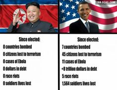 So, can we say that Kim is the best president ever?  ;o))