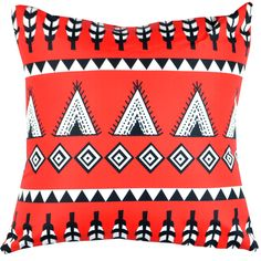 Designer decorative Folk pillow № gd380
