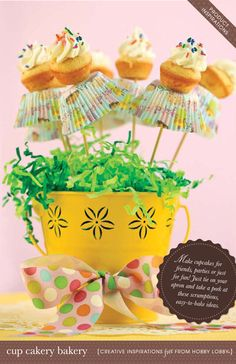 1000+ ideas about Mini Cupcake Bouquets on Pinterest ...