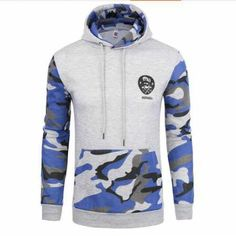 US Size Men Sudaderas Hombre Hip Hop Brand Camouflage Patchwork Hoodies Men Casual Pullover Tracksuit Sportswear Sweatshirts Camouflage Sweatshirt, Camouflage Jacket, Camouflage Hoodies, Military Camouflage, Camo Hoodie, Army Camo, Military Style, Hoodie Sweatshirts, Sweat Shirt