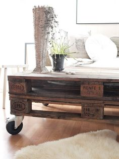 Pallet Coffee Table by robinclabby