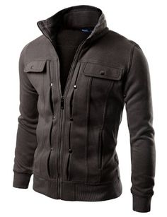 Doublju Mens Highneck Zip Up Jacket CHARCOAL (US-M) Doublju,http://www.amazon.com/dp/B00453IG36/ref=cm_sw_r_pi_dp_zKq8sb09EY9PWHJX