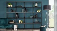 Bookcase CASE – versatile ✓ Robust book shelving units ✓ corner, small, wooden, with doors ✓ Order your bookcases right here! Living Roon, Cute Living Room, Living Room Storage, Small Living Rooms, Living Room Decor, Open Shelving Units, Shelving Systems, Regal Design, White Shelves