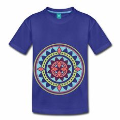 Teebazaar - clothing and accessoires Yoga Pilates, Om, Mens Tops, T Shirt, Fashion, Flower Of Life, Funny T Shirts, Light Blue, Kids
